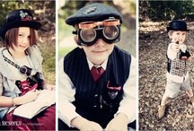 Steampunky Kids / ------------------- Honestly, is there ANYthing cuter than a Steampunky kid?  I think NOT!  ------------------- https://www.facebook.com/pages/SteamCircuscom/206919582693093 / by Brenda { SteamCircus.com }