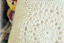 PILLOW*CROCHET-KNITTING