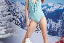 Vitrine de noël! / Rangez les tongs et sortez vos patins : Carla Bikini vous rhabille pour l'hiver ! Avec -40% sur les produits de notre vitrine de noël exclusive, l'étoile filante de la patinoire ce sera vous !