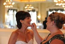 Wedding day behind the scenes