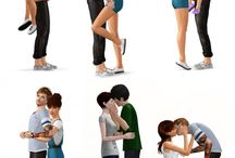the sims 3 pose
