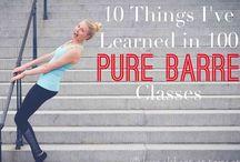 Pure Barre stuff