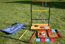 Summer Outdoor Games / Family fun with outdoor games this summer.