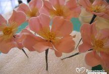 maravillosas flores de azucar