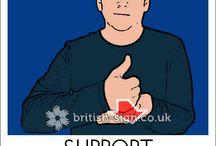 BSL SIGN LANGUAGE