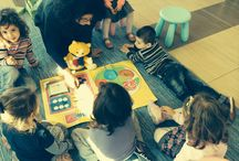 Early Childhood Programme / An English programme designed for preschool children, aged 3-5 years old. They learn the language through real life activities, play and storytelling.  In this way they learn the second language as their native and develop a love for learning!