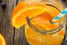 l'orange / communication, chaleur, confiance, vitalité, énergie.
