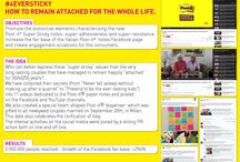 "2015 PR Campaign ""#4EverSticky: How to remain attached for the whole life"" MY PR for 3M Italia"