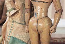 Fashion dolls. Unknown