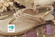 İp sandaletler