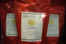 Don Collins® Cafe (Coffee) / Freshly roasted Puerto Rican coffee beans, straight from the mountains in the central part of the island. The lush soil close to the rainforest ensures the finest medium dark roast the Caribbean has to offer. #luxury #cigar #coffee #arabica #holiday #gifts #accessories #humidor #souvenirs #travel #tourism #SanJuan #OldSanJuan #Taino #PuertoRico #PuertoRican #wholesale