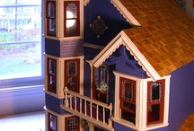 Doll House / www.artlesson.webs.com summer camp, art camp, art lessons, drawing, painting.