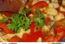 vařím,peču - houby