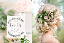 MARIAGE / Photo de mariage qui allie deux univers que j'aime beaucoup trop : les mariages bohème et princesse !