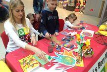 Veľkonočný víkend v Bory Mall / Aj počas veľkej noci mali najmenší o zábavu postarané :)