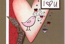 Cardmaking - Valentines & Love