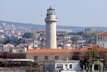 Lighthouses / Illuminated shorelines