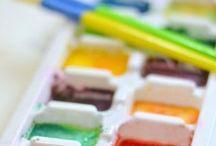Classroom art supplies