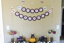 Things That Go / Transportation Themed Party / Birthday Party