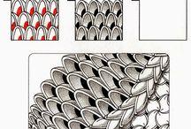 Zentangle - vzory