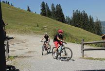 Mountainbiken / Insgesamt 15 Bike-Strecken mit insgesamt 150 Kilometer Strecke stehen im #tannheimertal für eine ausgiebige und individuell gestaltbare Radtour zur Verfügung.
