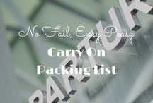 Packing Guides & Travel Gear / Packing guides for different travel destinations and countries. Travel gear and travel-related gift guides.