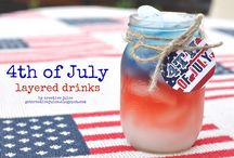 4th of July Party Ideas / Recipes, décor, and fun things to wear for your 4th of July party