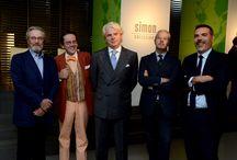 SimonCollezione presentation in Milan.