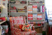 Sewing Room Ideas / by Amy Morris Shalosky