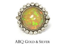 October Opals / Gorgeous pieces for October birthdays.