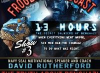 The Froglogic Podcast with Navy SEAL Motivational Speaker and Coach David Rutherford / Get fired up with host Navy SEAL Motivational Speaker and Coach David Rutherford. The Froglogic Podcast is a show designed to light the fire in your gut and help you defeat the Negative Insurgency. David spent the last 25 years exploring the human condition in his attempt to discover what enables people to succeed and fail in every environment imaginable. His new podcast invites listeners to explore what fuels the human psyche to achieve victory in life.  please visit www.teamfroglogic.com
