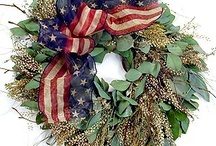 wreaths ~~~ / by Linda Wilds