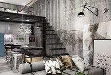 Lofty / Bydlení v loftu patří mezi velmi oblíbené, byť s sebou přináší určitá úskalí. Inspirujte se, jak loft pěkně zařídit,