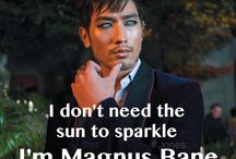 Magnus Bane and Shadowhunters
