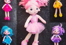 Knotty Girl Rag dolls