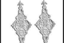 Ornamen Pagar / Berbagai desain ornamen pagar cast iron (besi cor) seperti ornamen pagar motif tombak, ornamen pagar motif daun, ornamen pagar minimalis