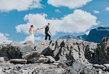 Nordegg Weddings / Photos of Nordegg weddings by ENV Photography #weddingphotography #mountainweddings #nordegg #abrahamlake