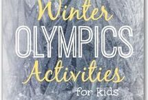 Winter Olympics / The 2018 Winter Olympics begin February 9. Share these books and activities with your children to help them learn more about the Olympic games!