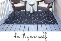 DIY - Paint on Rugs