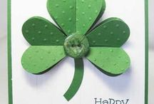 Cardmaking-St. Patrick's Day / Free instructions to cute handmade St. Patrick's Day cards.