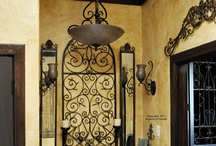 Wrought Iron Decore