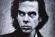 MUSIC - Nick Cave / A collection of photographs and paintings of the legend that is Nick Cave.