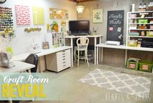 Momma craft room / by stephanie evans