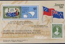 Stamps on Stamps / Stamps with topic Stamps on Stamps