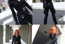 Black Widow Cosplay / Black Widow Cosplay