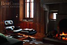 Fireplaces / Have a look at these charming Italian fireplaces!