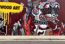 """""""Cre-active"""" Street Art / DARK DOG would like to provide an off-the-beaten-path travel guide of some must-see artwork around the world."""