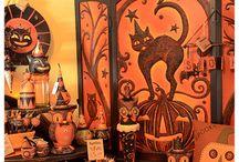 Halloweeeen / by ~BLACK CAT PUMPKIN PATCH~