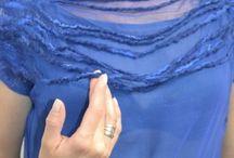 silk blouse handmade by me www.sklep.alejasztuki.com