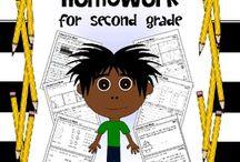 Second Grade Love / by Amanda Gagnon